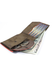 Kjore Slim Fold Wallet Colorful Coins - Product Mini Image