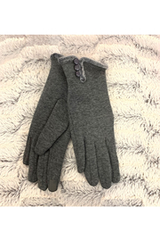 Giftcraft Inc.  Slim Gloves w/ Touchscreen Ftr - Front cropped