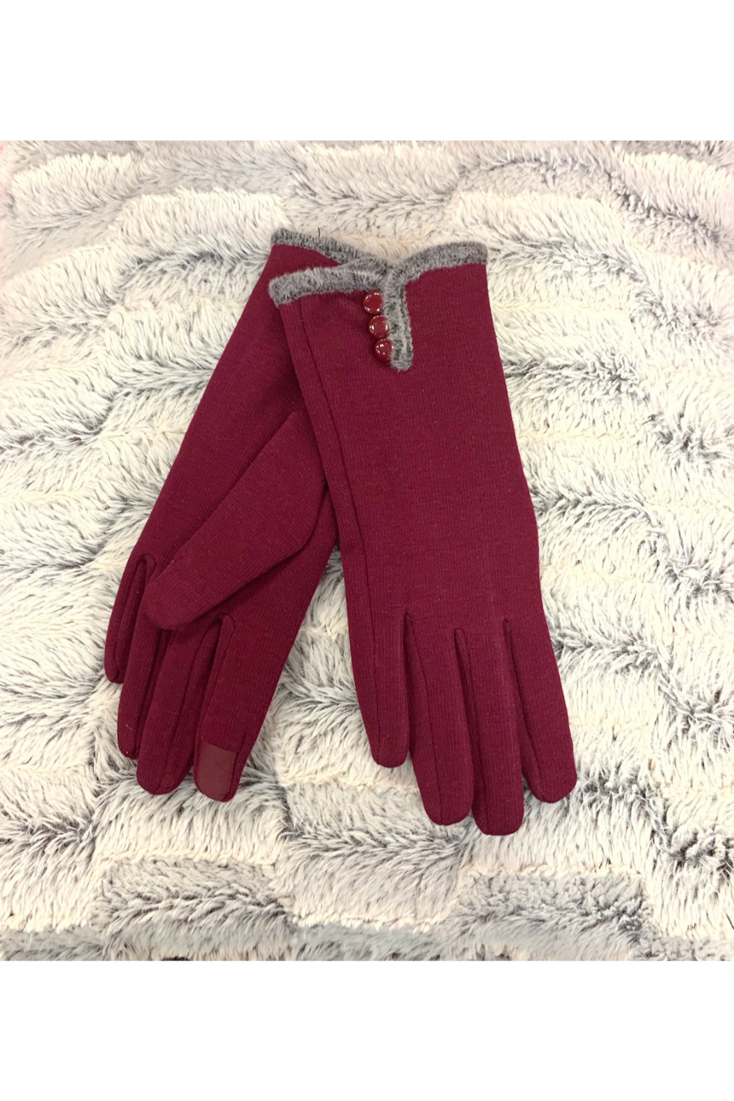 Giftcraft Inc.  Slim Gloves w/ Touchscreen Ftr - Main Image
