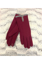 Giftcraft Inc.  Slim Gloves w/ Touchscreen Ftr - Product Mini Image