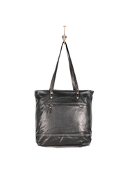 Myra Bags Slim Leather Tote Bag - Front full body
