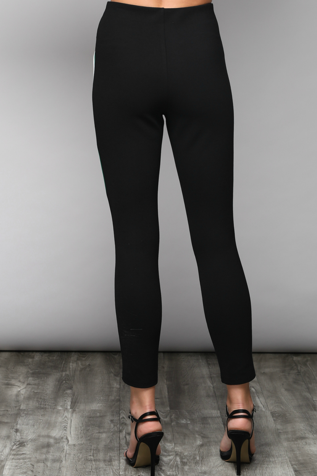 Do & Be Slim Pants With Side Varsity Stripe - Side Cropped Image