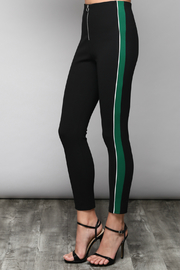 Do & Be Slim Pants With Side Varsity Stripe - Front cropped
