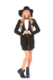 York Slim Shawl Blazer - Front cropped