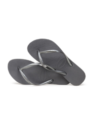 Havaianas Slim Steel Grey - Front full body