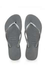 Havaianas Slim Steel Grey - Front cropped