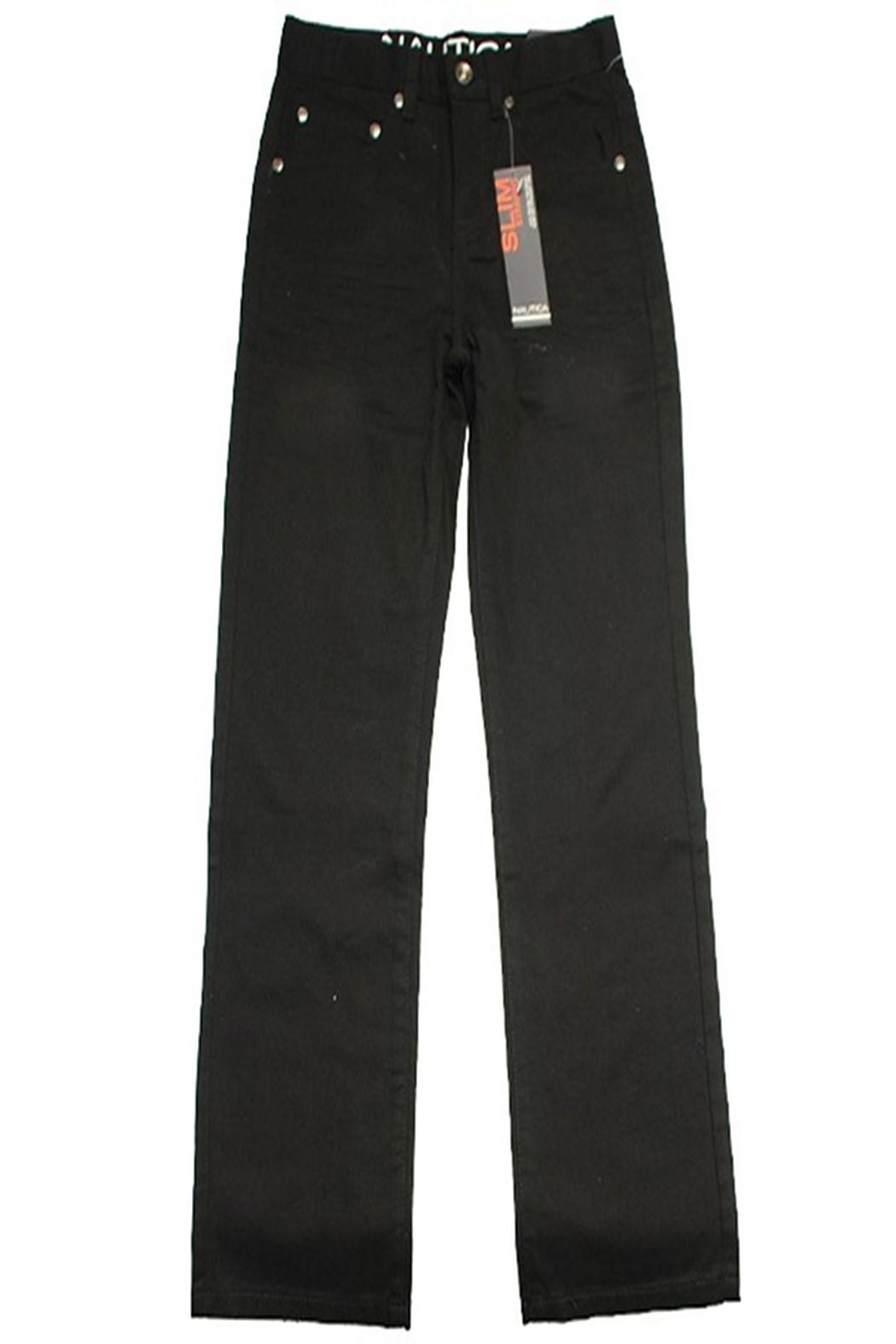 Nautica Slim Straight Pants - Front Cropped Image