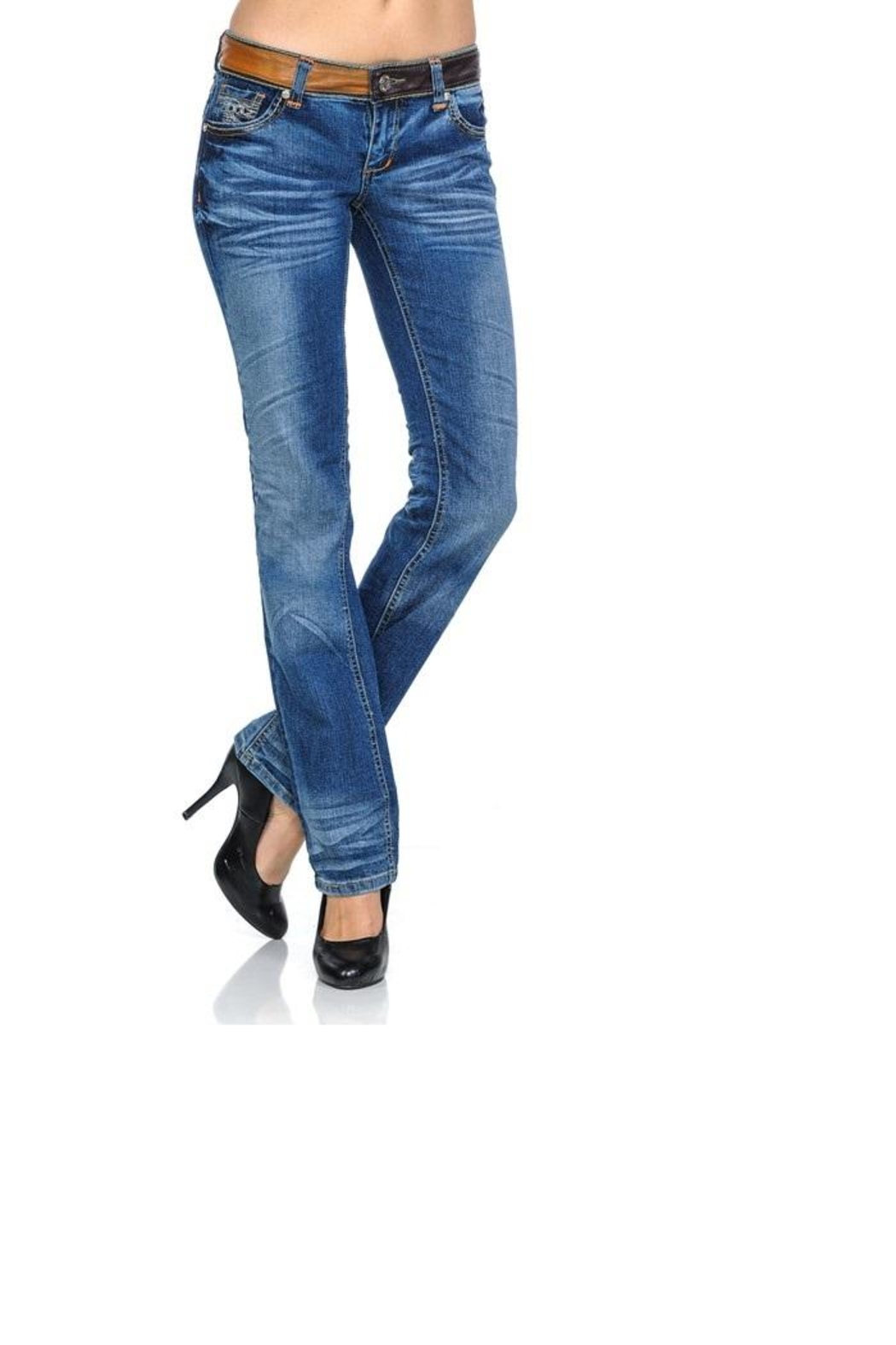 a6b8d99fd77 virgin only Slim Stretch Jeans from Georgia by Posh Clothing ...
