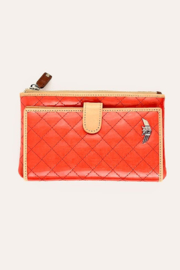 The Birds Nest SLIM WALLET- CANDY CAYENNE - Product Mini Image