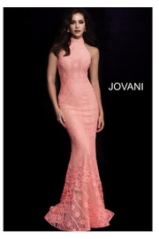Jovani Slimming Lace Gown - Product Mini Image