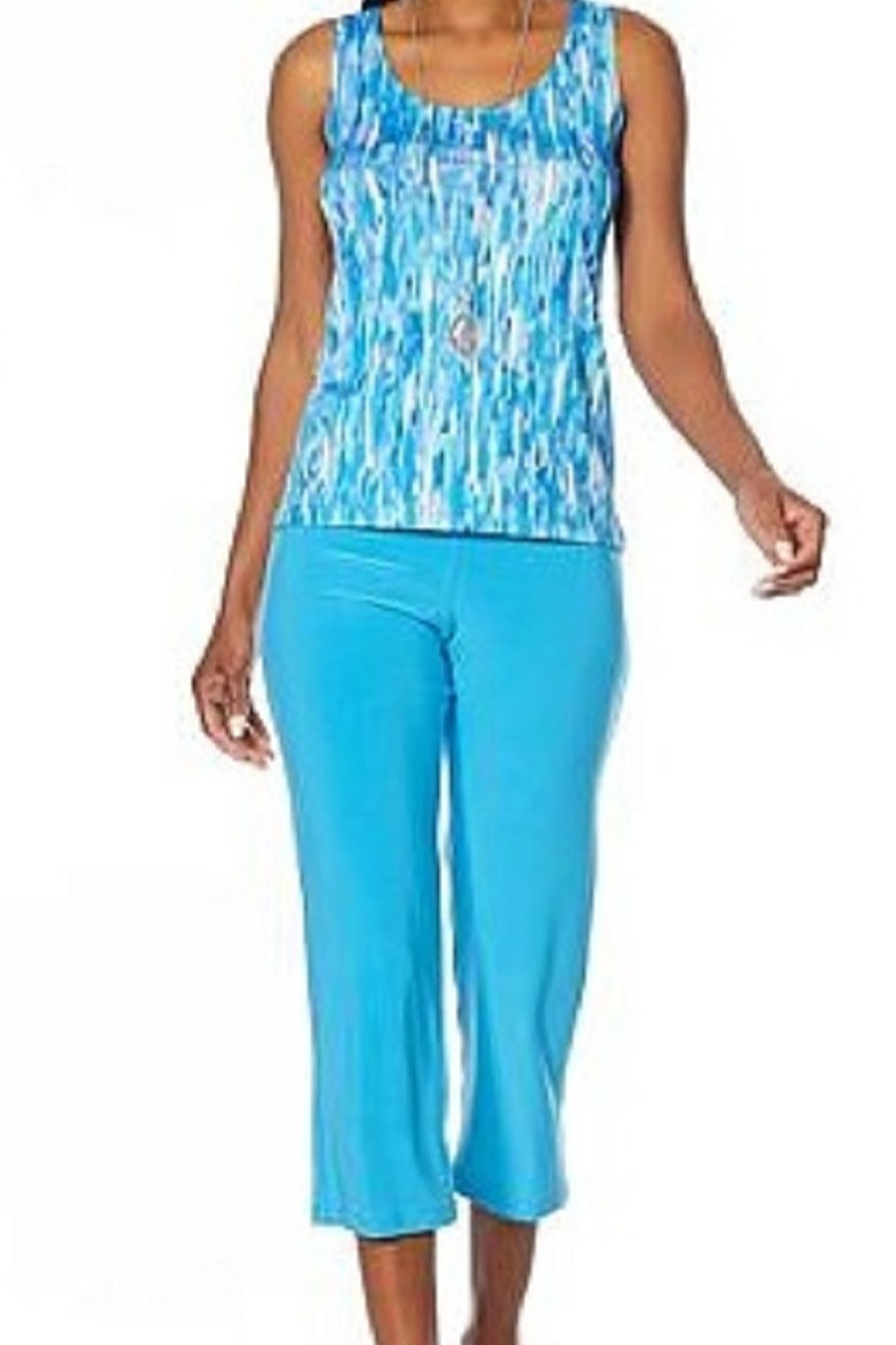 Slinky Brand two pc set - Front Cropped Image