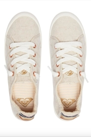 Roxy Slip-On Canvas Shoes - Back cropped