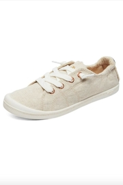 Roxy Slip-On Canvas Shoes - Front cropped