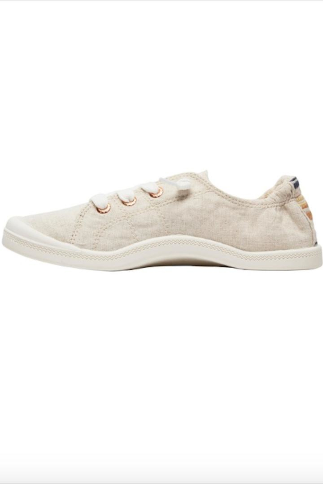 Roxy Slip-On Canvas Shoes - Side Cropped Image