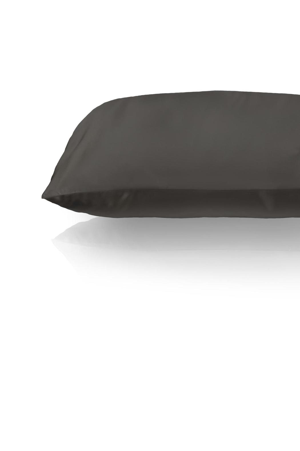 slip for beauty sleep charcoal silk pillowcase side cropped image