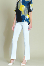 Clara Sunwoo Slit Front Techno Full Length Pant - Product Mini Image