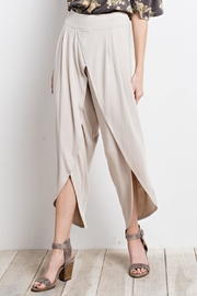 easel Slit Knit Pants - Product Mini Image