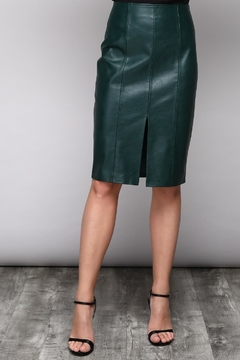 Shoptiques Product: Slit Vegan Skirt