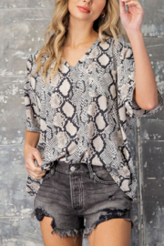 eesome Slither In Style Top - Front cropped