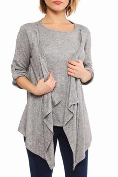 SLN Layered Look Cardigan - Product List Image