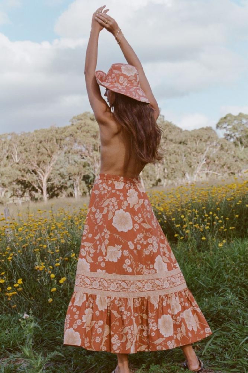 Spell & the Gypsy Collective Sloan Maxi Skirt - Front Full Image