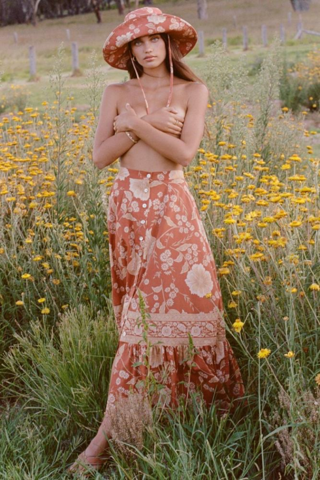 Spell & the Gypsy Collective Sloan Maxi Skirt - Main Image