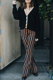 Knot Sisters Sloan Striped Pull-on Pant - Product Mini Image