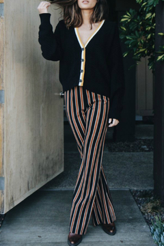 Knot Sisters Sloan Striped Pull-on Pant - Alternate List Image