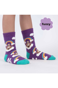 Sock it to me Sloth Dreams Crew Socks - Youth & Junior - Product List Image