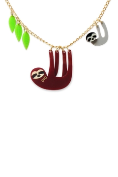 Little Moose Sloth Family Necklace - Product List Image