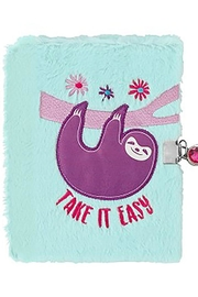 Three Cheers For Girls Sloth Journal - Product Mini Image