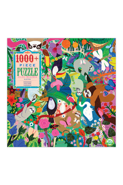 Eeboo Sloths 1008 Piece Puzzle - Alternate List Image