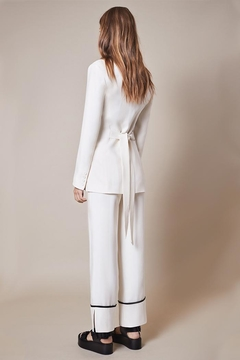 Smythe Slouch Ivory Pant - Alternate List Image
