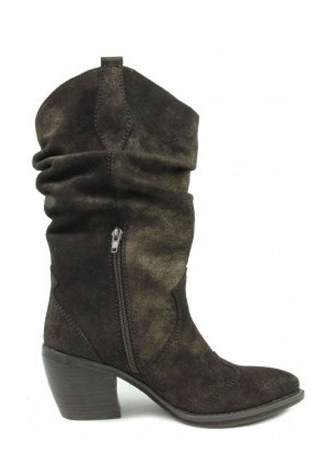 Vaneli Slouchy Cowboy Boot - Side Cropped Image
