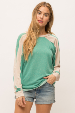 Mystree Slouchy Dolman Top - Product List Image