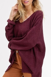 Listicle Slouchy Pullover Sweater - Product Mini Image