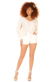 Dex Slouchy Shore Sweater - Product Mini Image