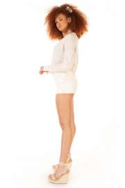 Dex Slouchy Shore Sweater - Front full body