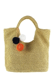 Slouchy Straw Bag