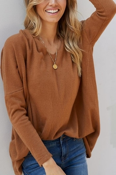 Shoptiques Product: Slouchy Sweater 2