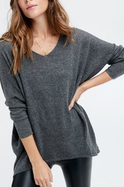 Hyped Unicorn Slouchy Sweater - Front cropped