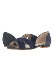 Seychelles Shoes Slow Down Navy Suede Sandal - Product Mini Image