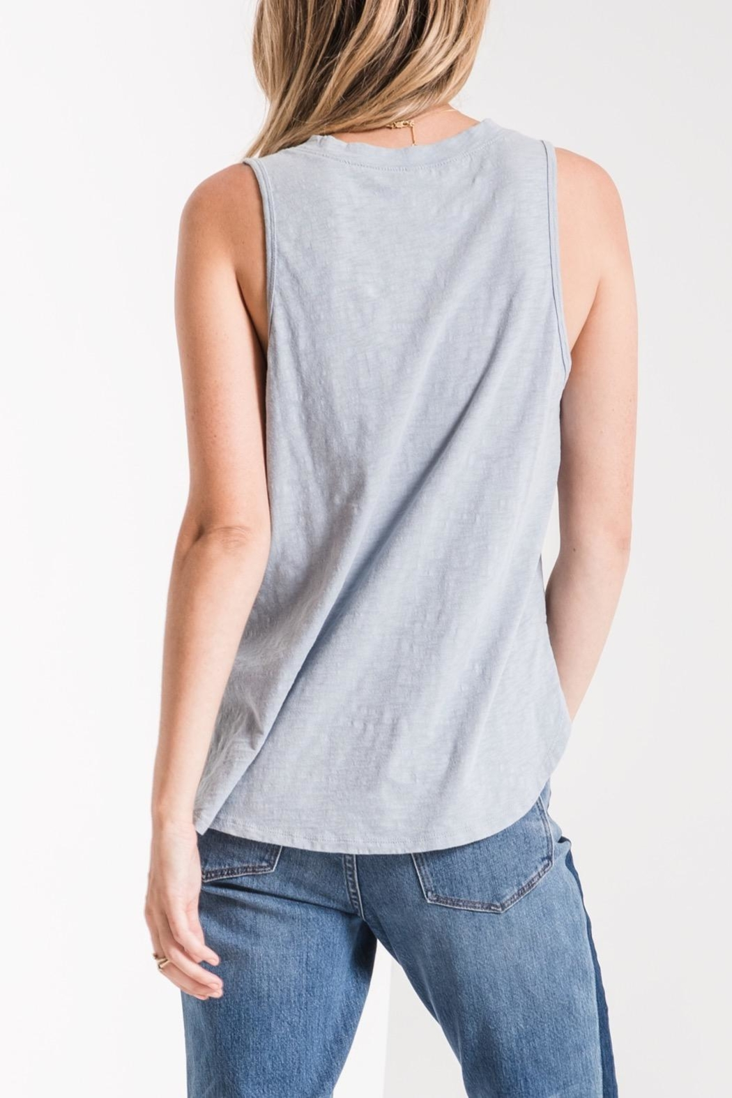 z supply Slub Shift Tank - Side Cropped Image