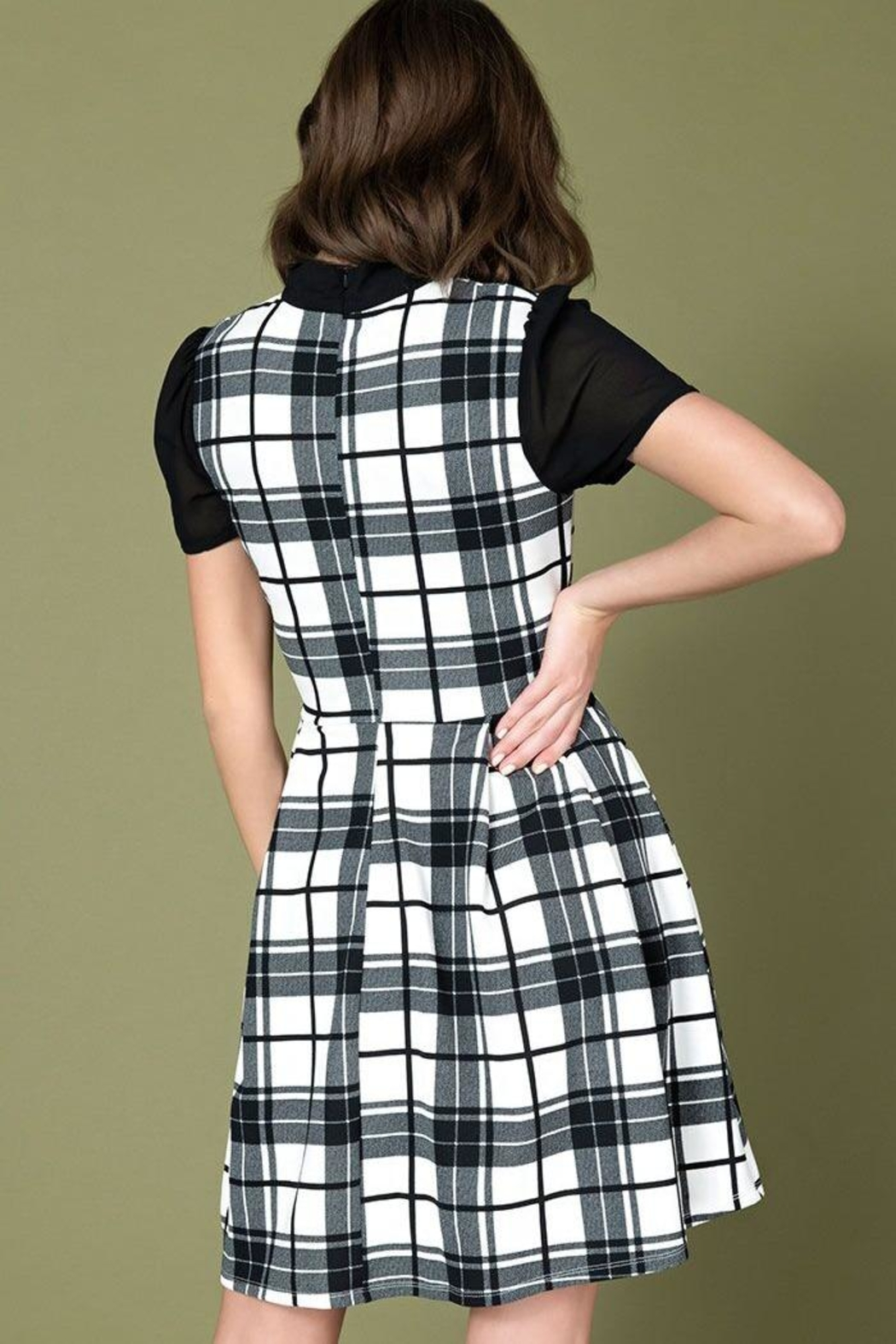Smak Parlour Empower Hour Dress - Side Cropped Image