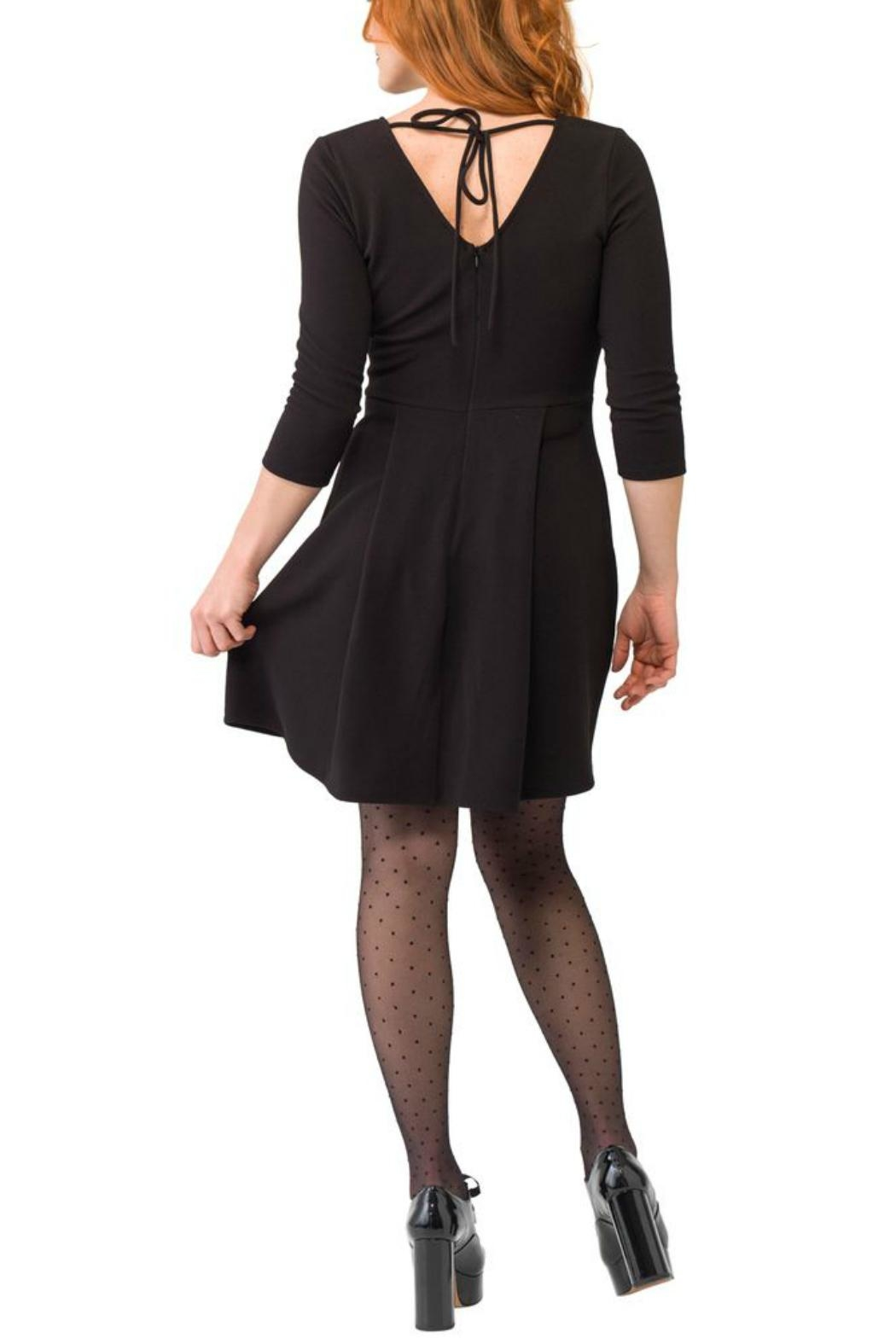 Smak Parlour Faux Leather Fit&Flare - Front Full Image