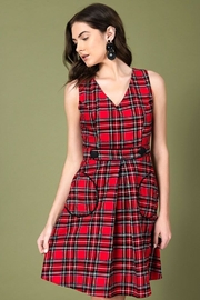 Smak Parlour For Keeps Plaid-Dress - Side cropped