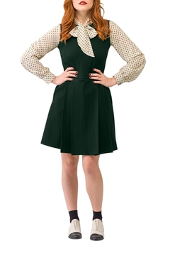 Smak Parlour Green Scholar Dress - Product List Image