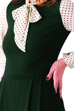 Smak Parlour Green Scholar Dress - Alternate List Image