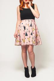 Smak Parlour Paperdoll Skater Dress - Front cropped