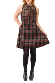 Smak Parlour Plaid Shirt Dress - Product Mini Image